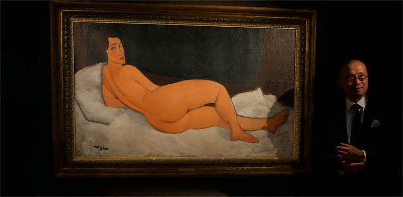 מכירת הציור של מודליאני / צילום: רויטרס