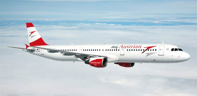 מטוס של חברת אוסטריאן / צילום: יחצ