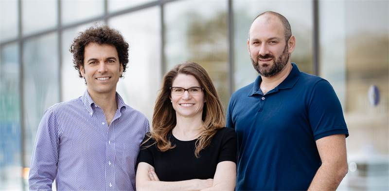 Yonatan Lipkin, Yael Glassman and Dr. Yaron Hadad Photo: Nutrino