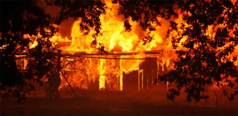 שריפה בקליפורניה בסוף יולי / צילום: רויטרס