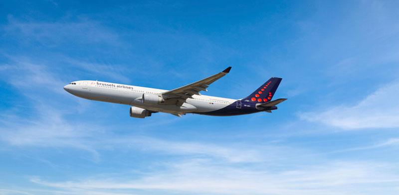 מטוס של Brussels / צילום: יחצ