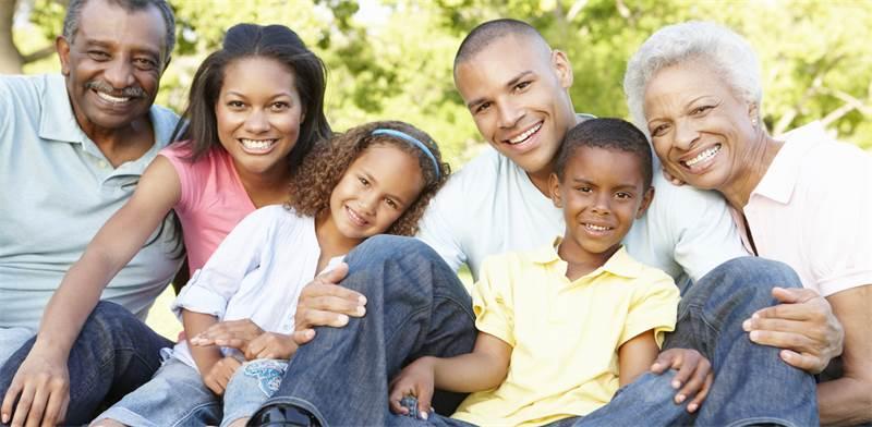 משפחה אמריקאית / צילום: שאטרסטוק