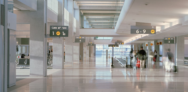 E Wing at Ben Gurion Airport Photo: PR