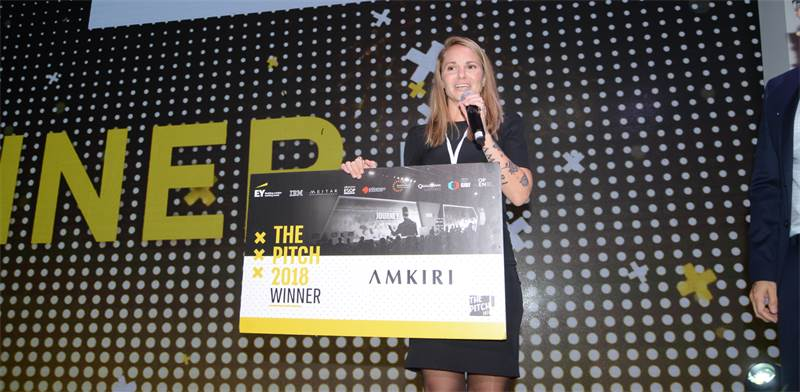 ThePitch winner Amkiri Photo: Eyal Izhar