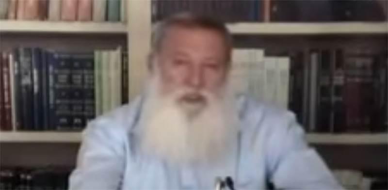 הרב קלנר / מתוך: סרטון היוטיוב המדובר