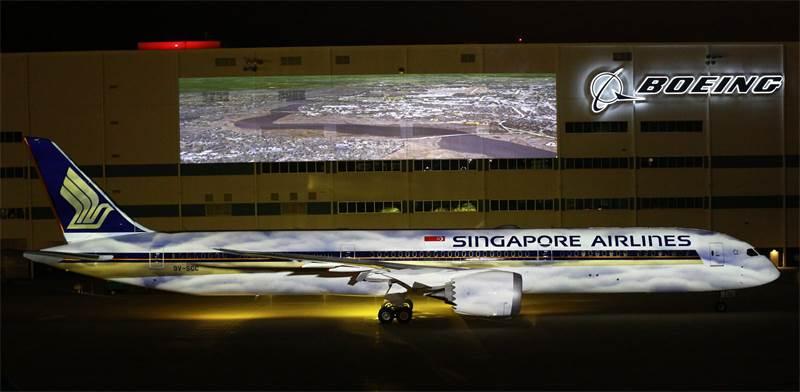 """המטוס החדש של סינגפור איירליינס/ צילום: יח""""צ"""
