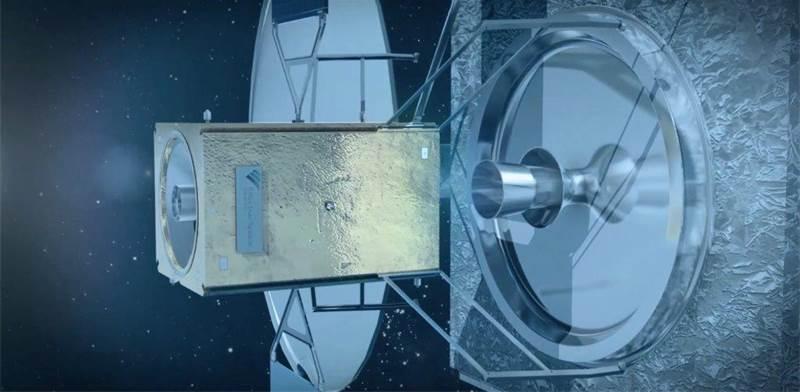 """לוויין תחזוקה של אפקטיב ספייס / הדמיות: תע""""א"""