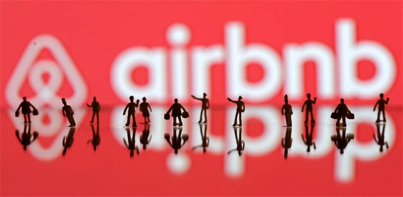 AIRBNB / צילום: דאדו רוביק, רויטרס