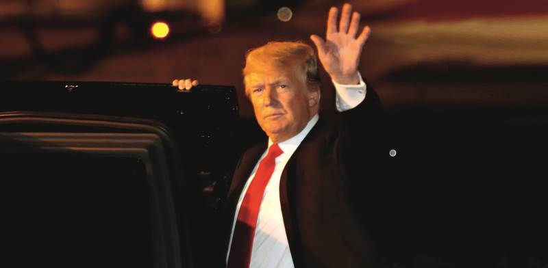 הנשיא טראמפ. חוזר ומבטיח צילום: רויטרס, Kevin Lamarque