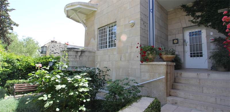 House in Jerusalem's Old Katamon Photo: PR