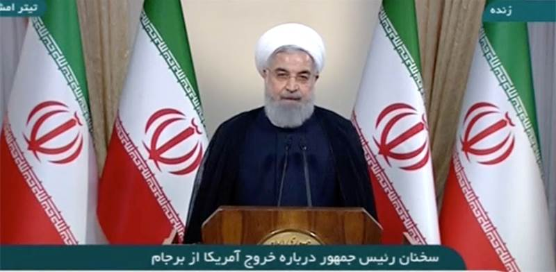 חסן רוחאני נשיא איראן / צילום: רויטרס