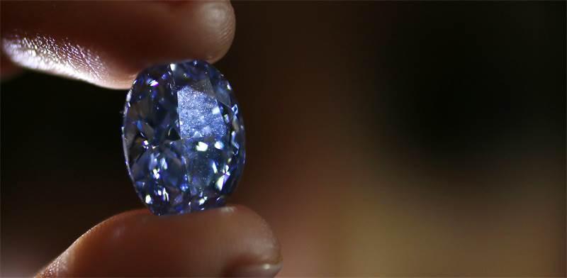 יהלום כחול / צילום אילוסטרציה: Stefan Wermuth, רויטרס
