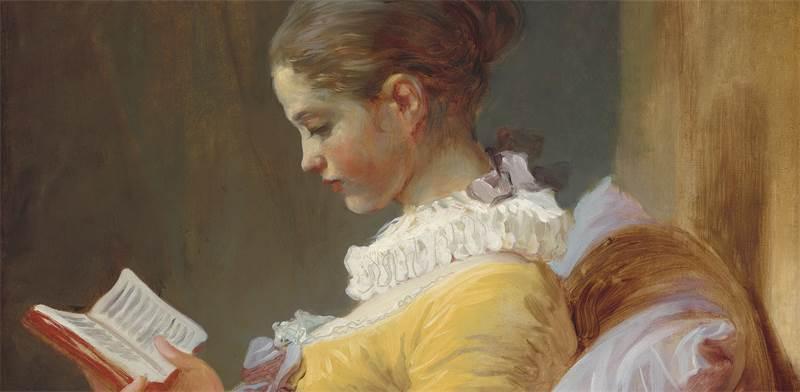 """""""נערה קוראת"""", 1770"""