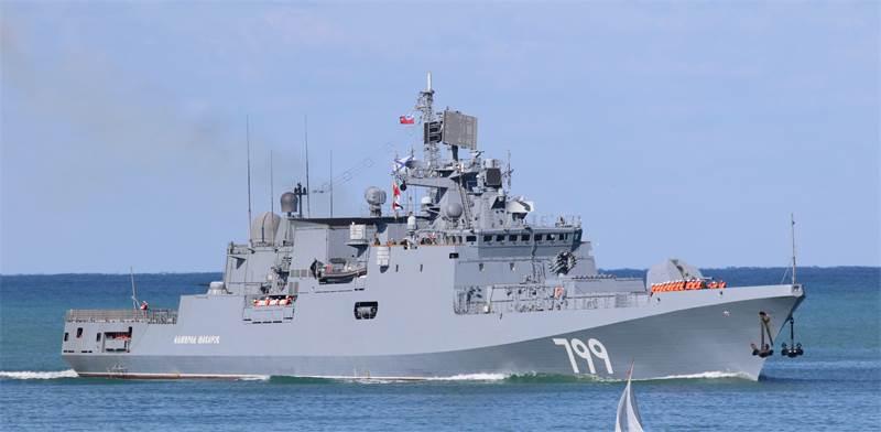 ספינת טילים רוסית בים השחור / צילום: Reuters