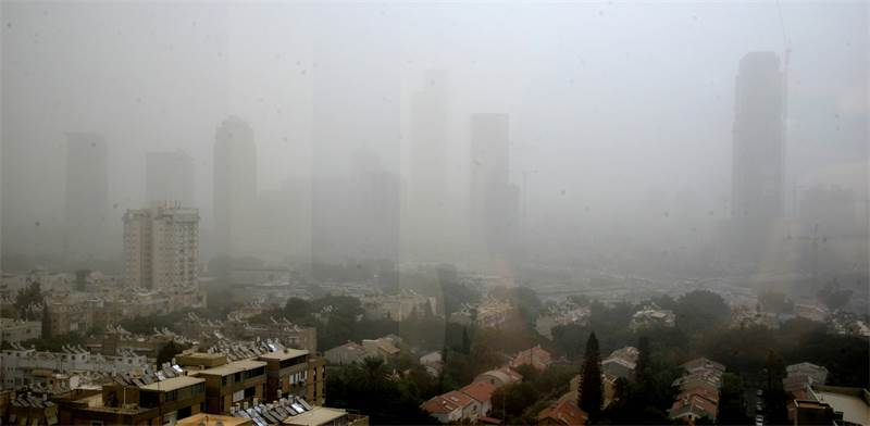 Air pollution in Tel Aviv