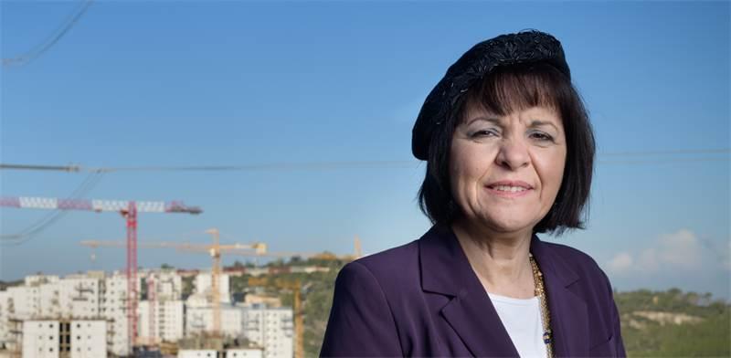 עליזה בלוך, ראשת עיריית בית שמש / צילום: יונתן בלום