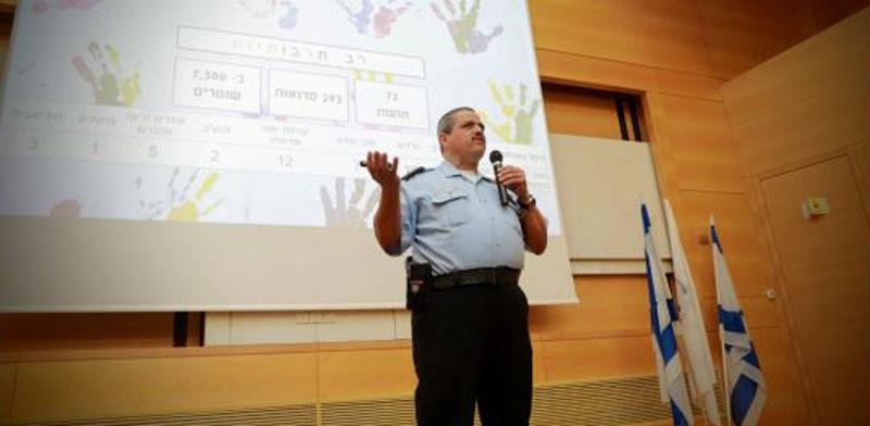"""המפכ""""ל רוני אלשיך בפקולטה למשפטים באוניברסיטת בר-אילן / צילום: שלומי יוסף"""