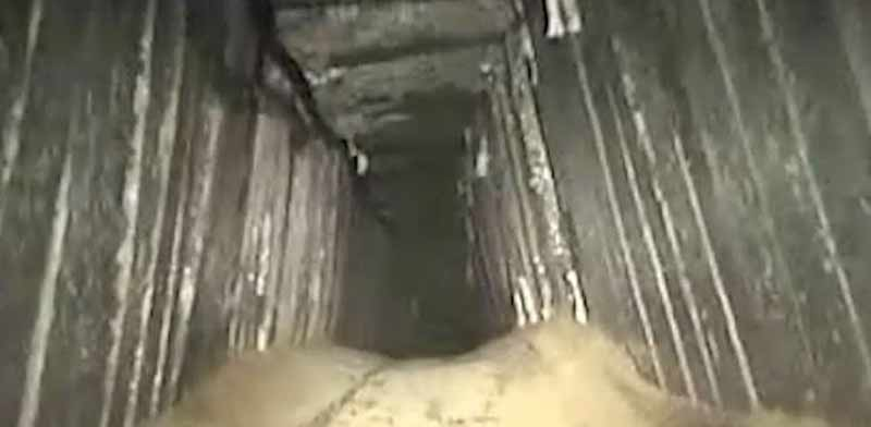 Tunnel photo: IDF spokesman