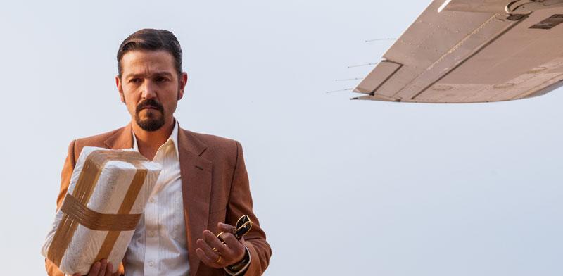 דייגו לונה בתפקיד מיגל אנחל פליקס גאיארדו / צילום:נטפליקס