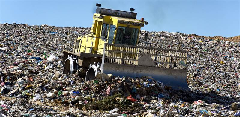 Israeli garbage dump Photo: Shutterstock