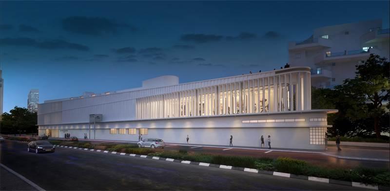 הדמייה מוזיאון רמת גן / קרדיט: אפרת-קובלסקי