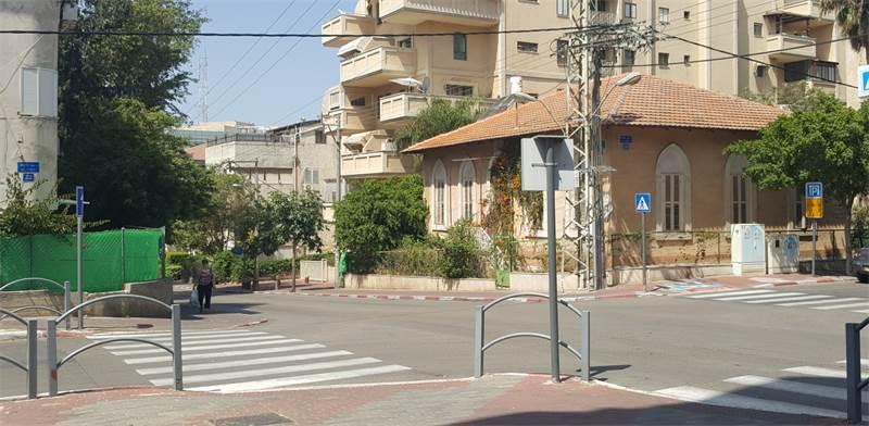 רחוב נורדאו בראשון לציון / צילום: גיא נרדי