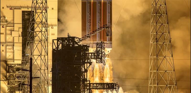 "שיגור הפרקר / צילום: נאס""א"