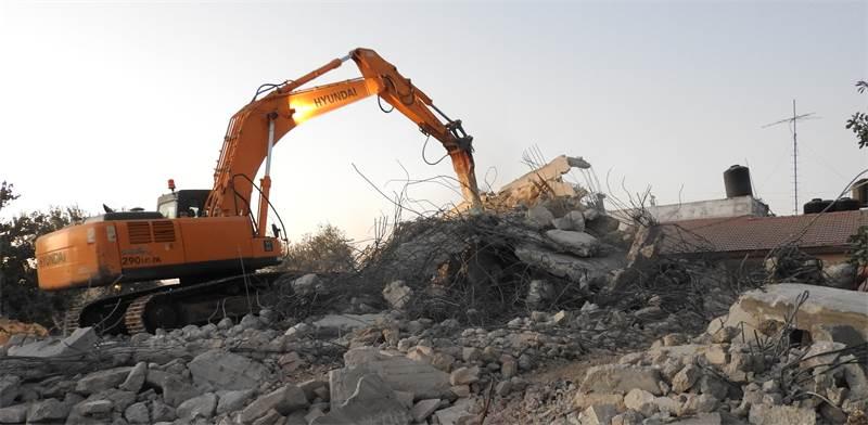 הריסת בנייה בלתי חוקית / צילום: דוברות משרד האוצר