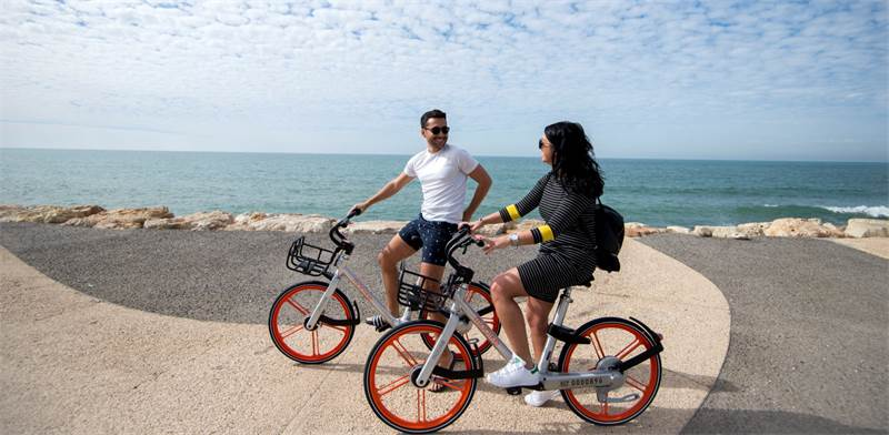 Mobike  photo: Yael Amir