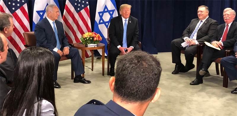 פגישת טראמפ ונתניהו / צילום: טל שניידר