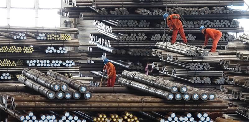 מפעל פלדה בסין / צילום: רויטרס