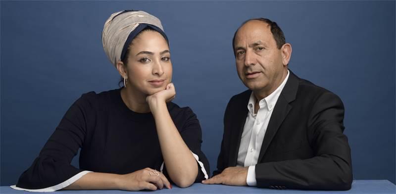 Rami Levy and daughter Yafit Photo: Jonathan Bloom