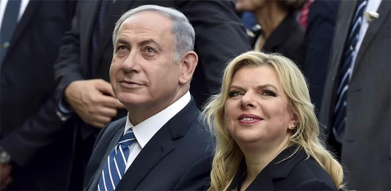 Sara and Benjamin Netanyahu Photo: PR