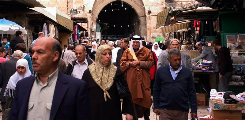 Jerusalem Arabs Photo: Shutterstock