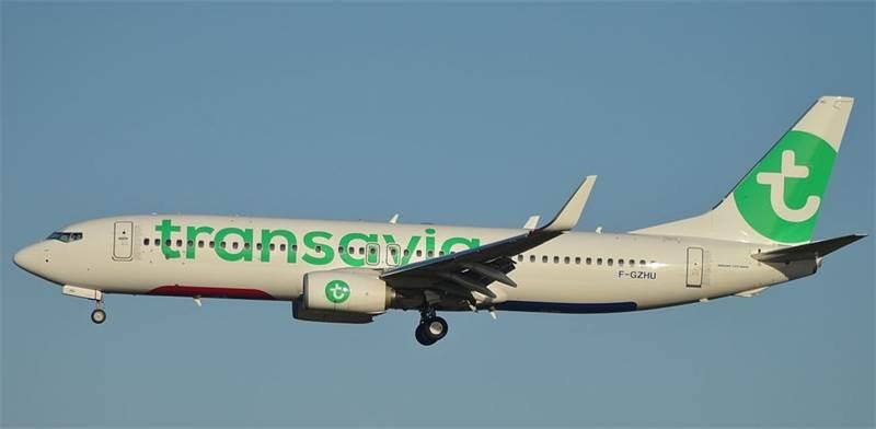 """מטוס של חברת התעופה טראנסאוויה / צילום: יח""""צ"""