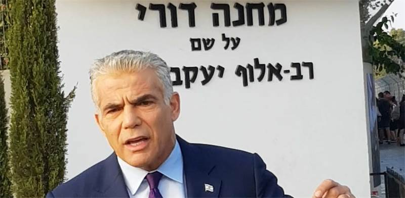 Yair Lapid  photo: Yesh Atid