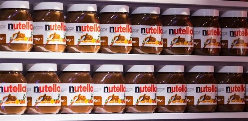 ממרח שוקולד נוטלה במרכול בתל-אביב / צילום: Lestertair, שאטרסטוק