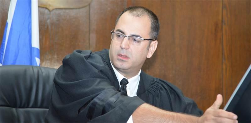 השופט בני שגיא / צילום: תמר מצפי
