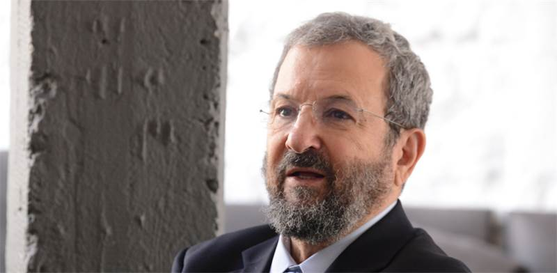 Ehud Barak Photo: Eyal Izhar