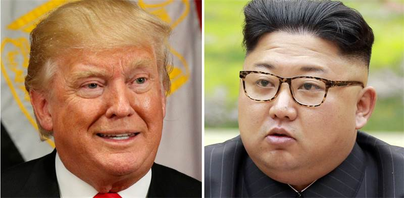 קים ג'ונג און, דונלד טראמפ / צילום: רויטרס