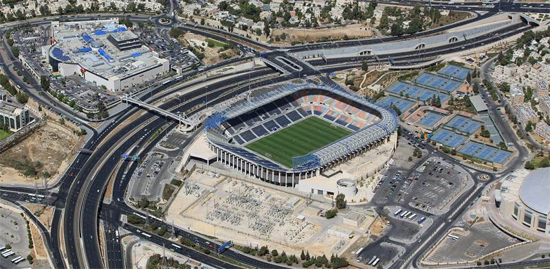 Teddy Stadium Photo: Shutterstock
