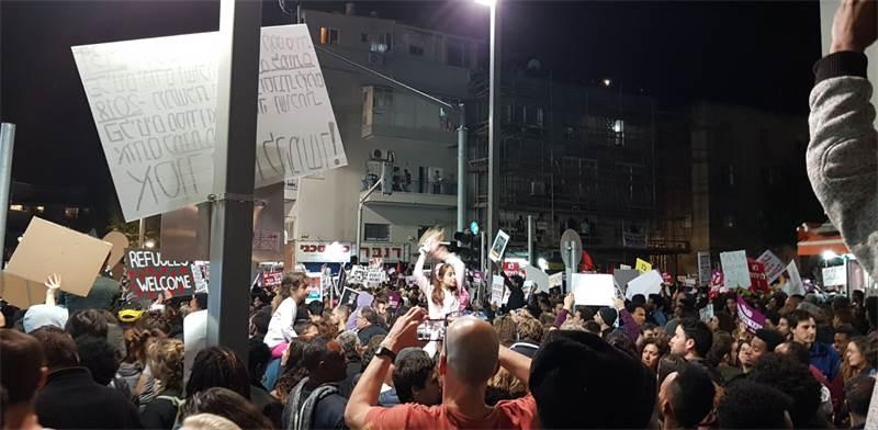 ההפגנה בישראל, אילוסטרציה / צילום: תומר פינס