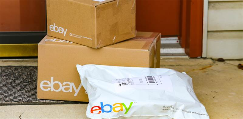 חבילות של eBay / צילום: שאטרסטוק, א.ס.א.פ קריאייטיב