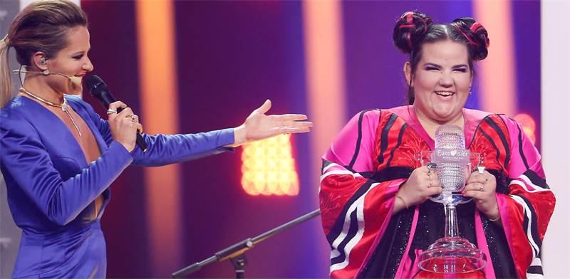 נטע ברזילי זוכה באירוויזיון 2018 / צילום: פדרו נונס, רויטרס