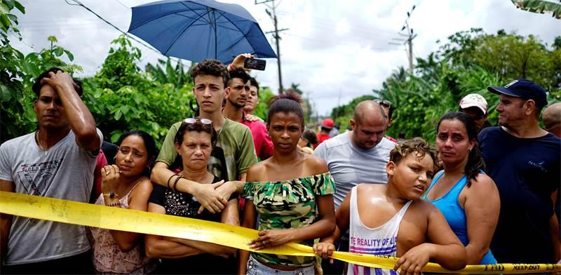 התרסקות המטוס בקובה / רויטרס