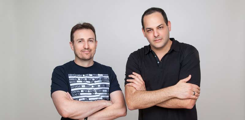 Itai Hirsch and Eyal Ronen Photo: Rony Pearl