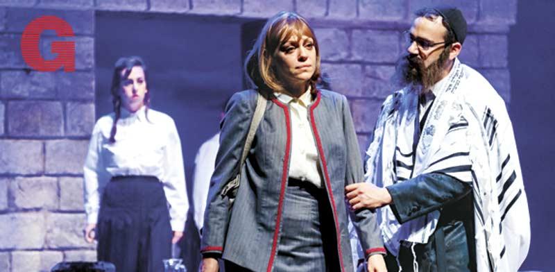 """יואב דונט ואסנת פישמן ב""""עושה כרצונו"""" / צילום: ז'ראר אלון"""
