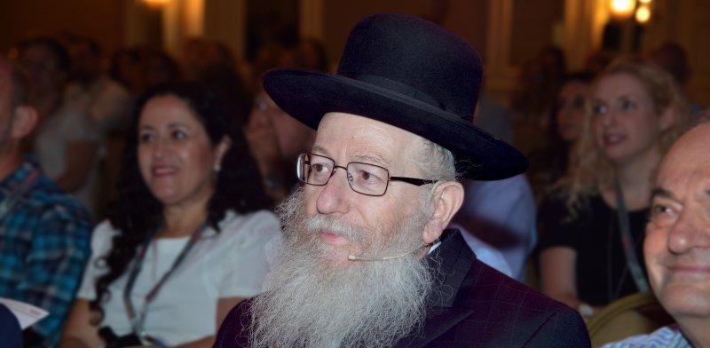 סגן שר הבריאות יעקב ליצמן / צלם: תמר מצפי