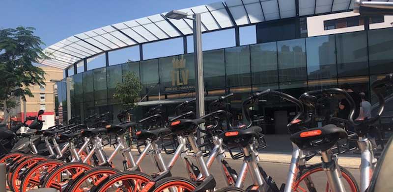 אופניים שיתופיים של מובייק / צילום: הדר בלאו