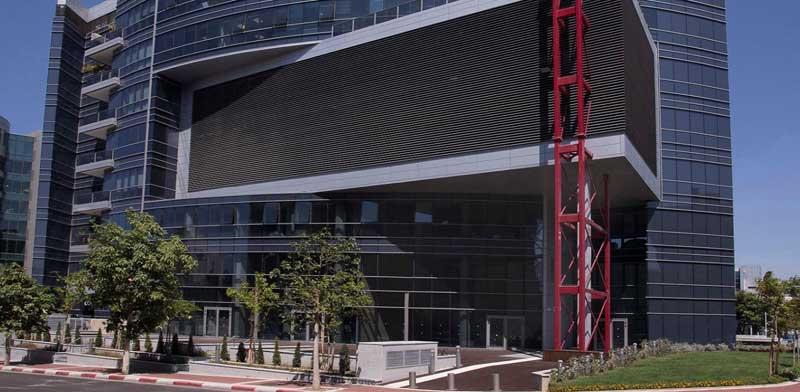 המבנה בפארק תמר/ צילום: צילום: מצגת החברה
